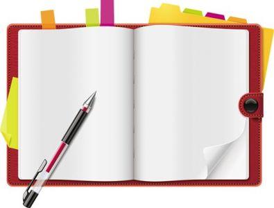 Notebook organizer design