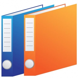 Office folder file vector