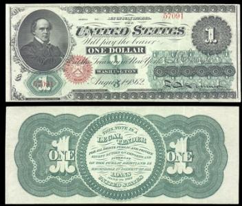 Old american dollars model