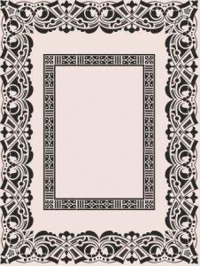 Old frame vector