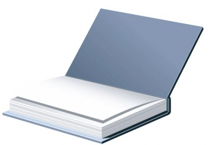 Open book layout