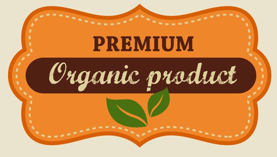 organic food labels and tags vectors organic food labels and tags vectors