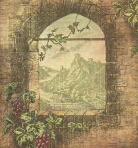 Ornamental paper texture