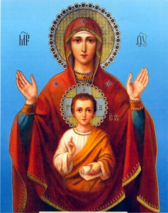 Orthodox icons image