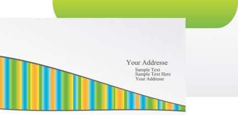 Paper envelope vector design