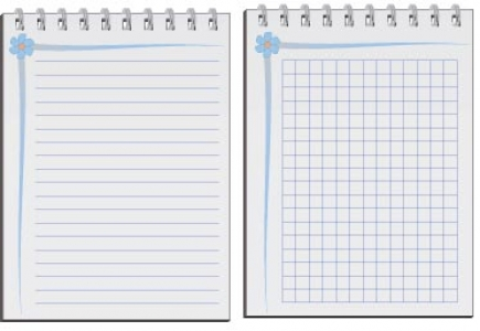 Paper note template