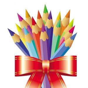 Pencils for childrens design