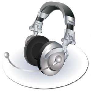 Headset device vector