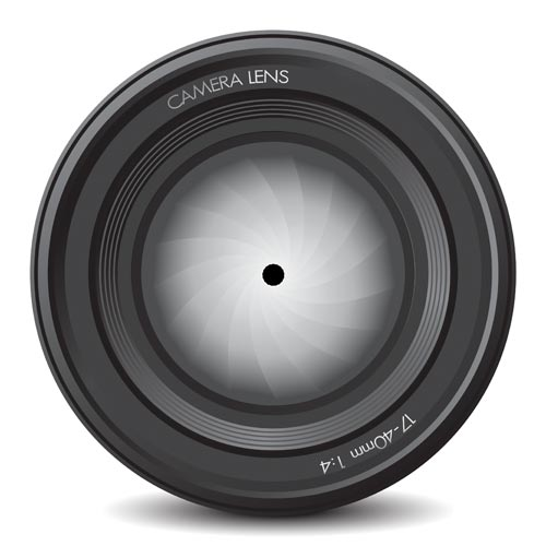 ... browsing down this page to our gallery of photo camera lens vectors