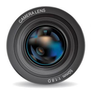 Photo camera lens design