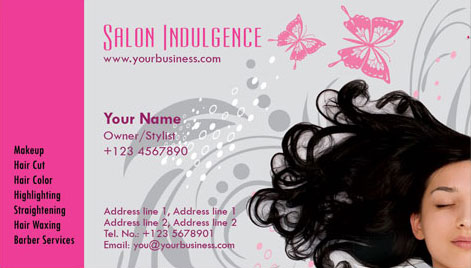 Photoshop business cards beauty salon beauty salon business cards colourmoves