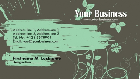 Photoshop business cards