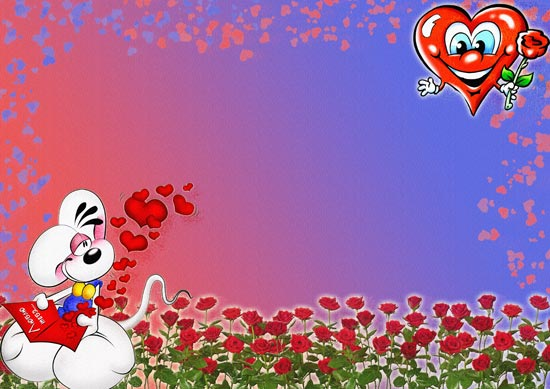 flowers cartoon background. cartoon backgrounds with