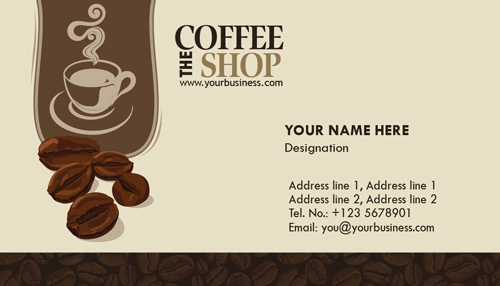 Photoshop coffee business cards design coffee business cards colourmoves