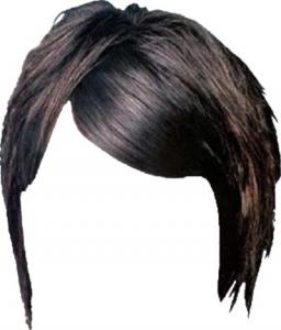 Photoshop hairstyle design
