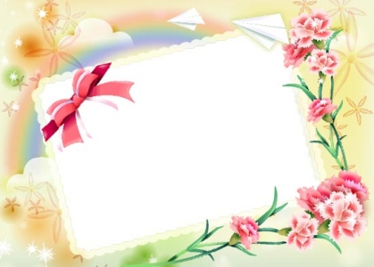 Photoshop spring frames template
