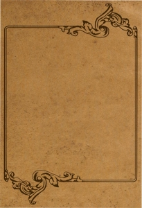 Photoshop vintage paper template