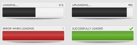 Photoshop web loader bar