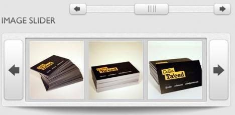Photoshop web slider box