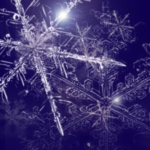 winter snowflakes for photoshop