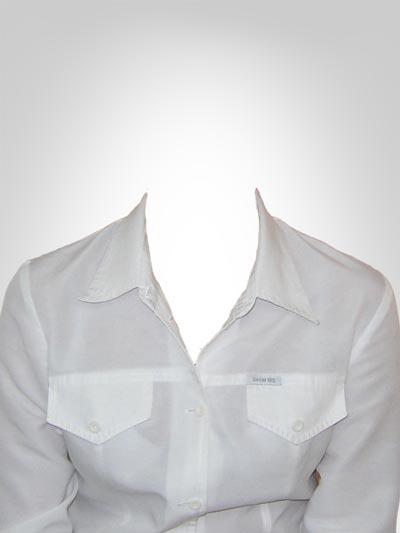 Womens Collar Shirt