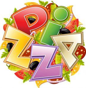 Pizza slices vector design