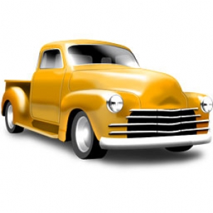 cars trucks and busses icons