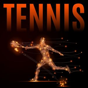 tennis player polygon,tennis player polygon