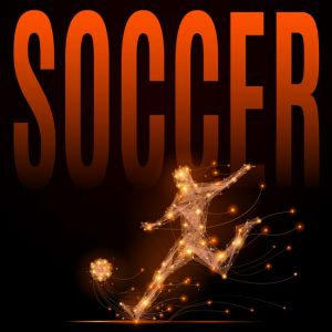 Soccer player polygonal,Soccer player polygonal
