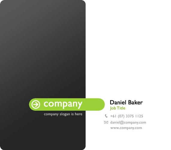 Professional business cards templates for shop