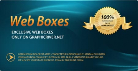 Promotional vector banner