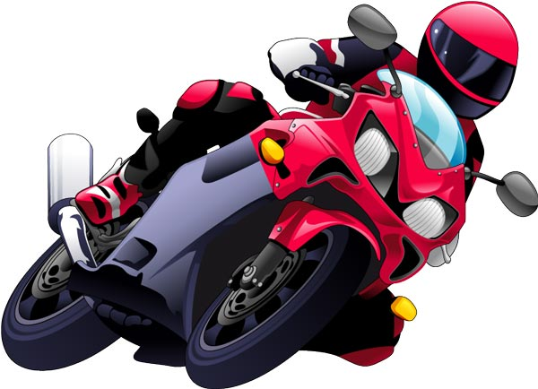 Images of Racing Motorbike Vector - #rock-cafe
