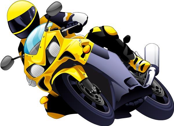 Racing And Off Road Moto Vectors