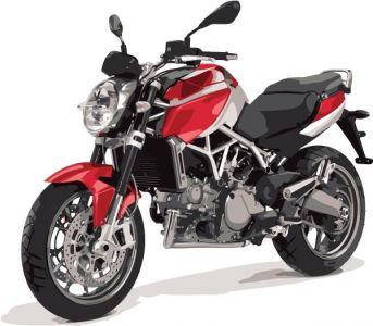 Racing and off-road moto vectors