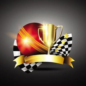 Racing trophy cup vectors
