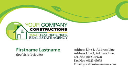 real estate business cards ideas. pictures real estate business