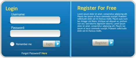 register-and-login-boxes-in-eps-vector-format1
