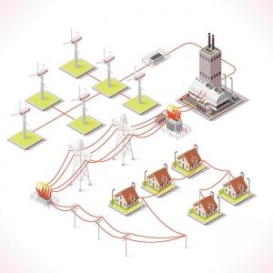 Energy 12 Infographic Isometric