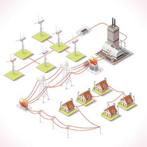 Energy 12 Infographic Isometric