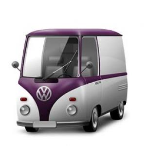 Retro vehicles icon