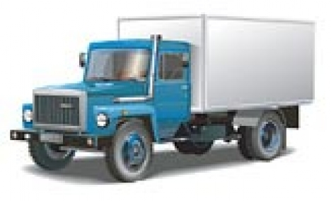 Russian big truck