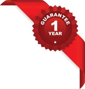 Guarantee 1 year sales red ribbon