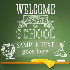 Education school banner