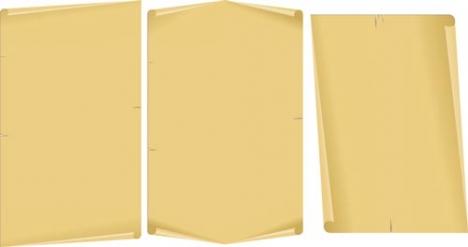 Scroll paper design