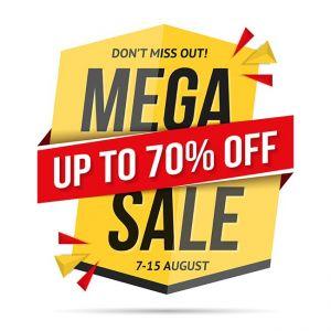 Mega Sale Banner,Mega Sale Banner