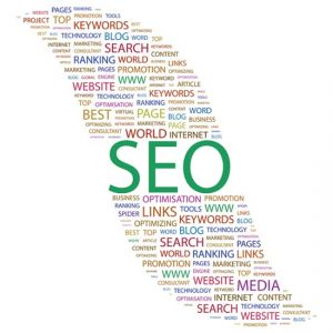 SEO word collage template