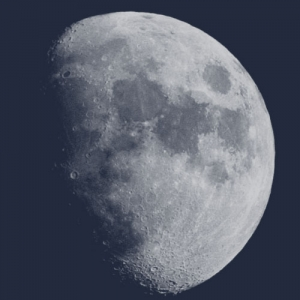 Shining moon Photoshop brush