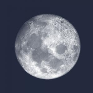Shining moon brush
