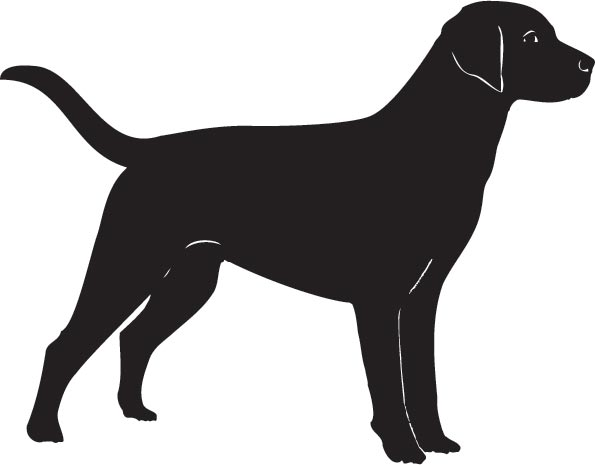 Dog Silhouette Clip Art at Clker.com vector clip art online, royalty ...