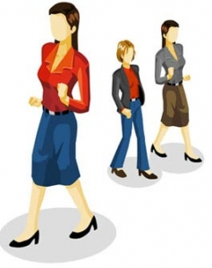Isometric people vector design